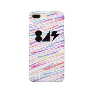 流星(黒) Smartphone cases