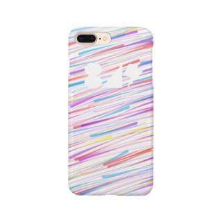 流星(白) Smartphone cases