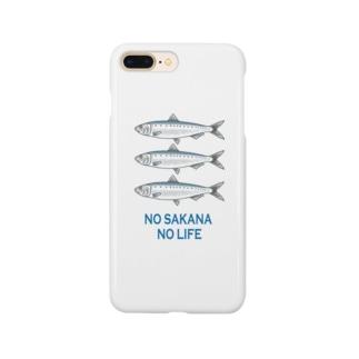 ノー魚 ノーライフ Smartphone cases