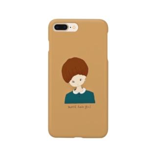 「マッシュな女の子。」 Smartphone cases