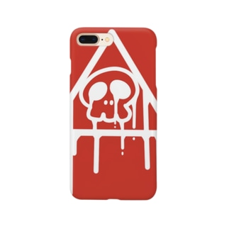 がいこつくん Smartphone cases