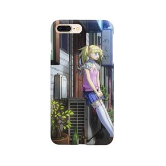 金髪ツインテ Smartphone cases