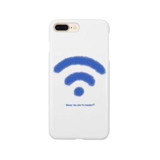 Wi-Fiマーク Smartphone cases