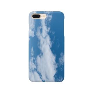 龍見ようと思えば見える雲 Smartphone cases