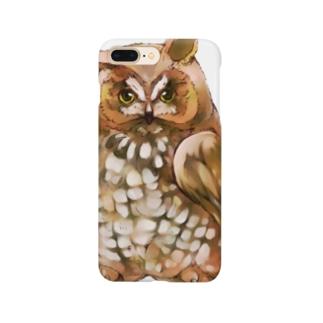 トラフズク Smartphone cases