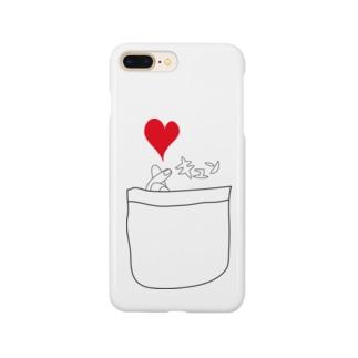 ポケットからキュン Smartphone cases
