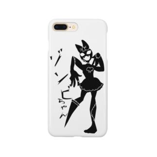 ゾンビちゃん(文字有り) Smartphone cases