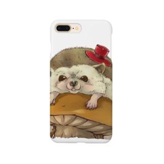 ナミハリネズミ Smartphone cases