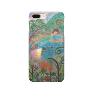 湖の種まき2 Smartphone cases