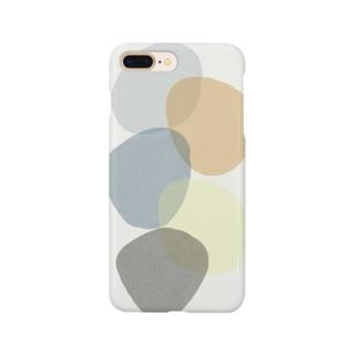 いびつまる02 Smartphone cases