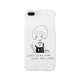 drawちゃん Smartphone cases