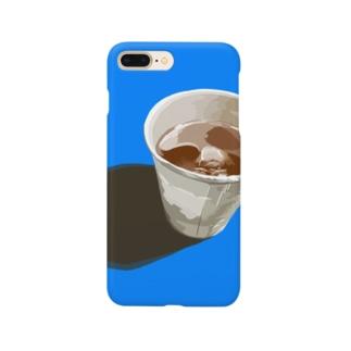 麦茶のスマホケース Smartphone cases