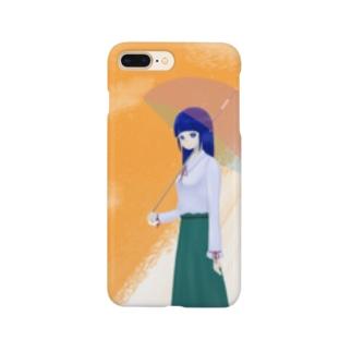雨上がり Smartphone cases