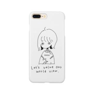 世界ちゃん Smartphone cases