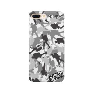 スマホケース・シルバーカモフラ Smartphone cases