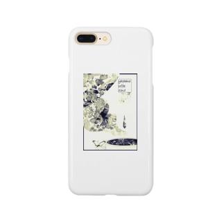 fika(ん) (セピア) Smartphone cases