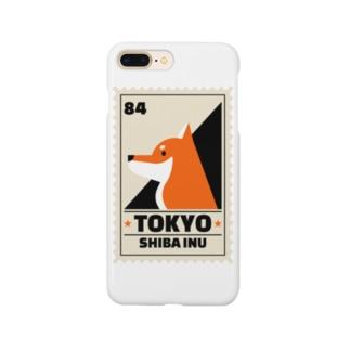 柴犬 東京 Smartphone cases