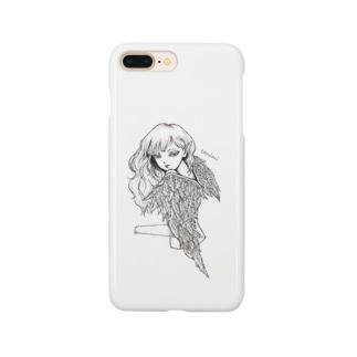 堕天使ちゃん Smartphone cases