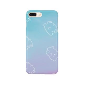 くまくまゼリー(しゅわっち) Smartphone cases
