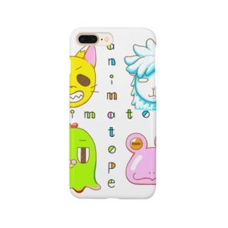 アニマとぺ ロゴ小 Smartphone cases