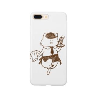 ねこねこカフェ Smartphone cases