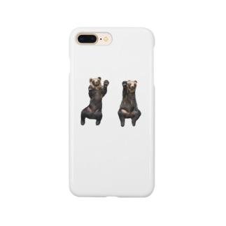 くまてぃーしゃつ! Smartphone cases