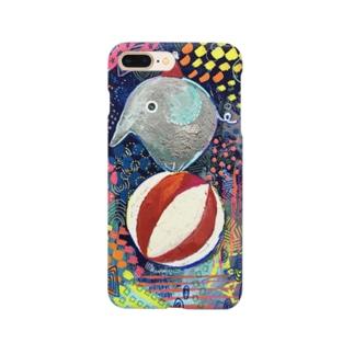 circus サーカスゾウさん Smartphone cases