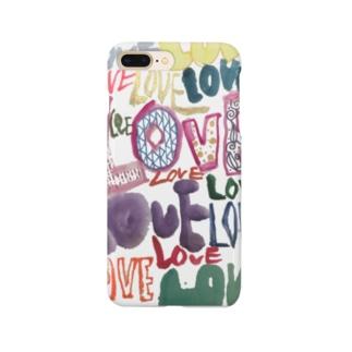 KIRAMEKU-YUKIのLOVE Smartphone Case