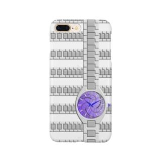 腕時計(藤巴紋) Smartphone cases
