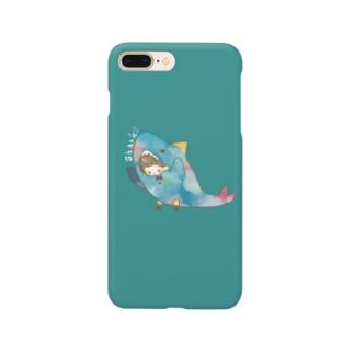 さめちゃん Smartphone cases
