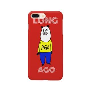 スマホケースあきやこおりDesign LONG AGO① Smartphone cases