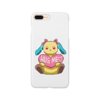 ハグミーうさぎ Smartphone cases