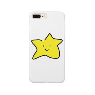 スターくんiPhoneカバー Smartphone cases