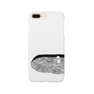 もようだまり Smartphone cases