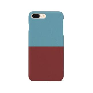 あかとあおのかべ。 Smartphone cases