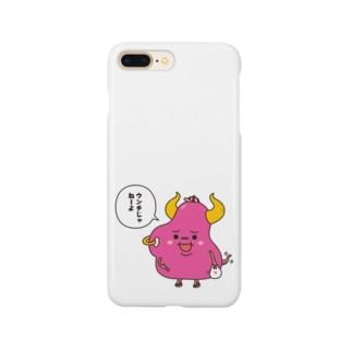 チョイコレshopのウンT星人 Smartphone cases