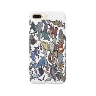 ゆるサメ大集合 Smartphone cases