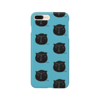 黒にゃんこ🎶 Smartphone cases