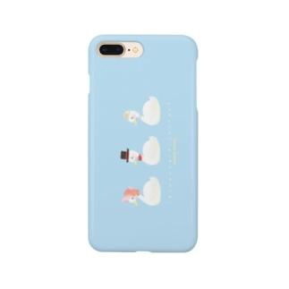 たかどのみこと🕊の3人デート日和 Smartphone cases