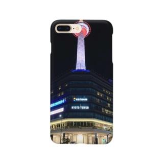 京都タワーのスマホケース Smartphone cases