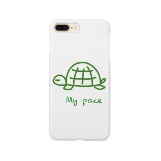 亀ちゃん Smartphone cases