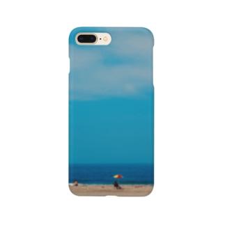 カラフルなパラソル Smartphone cases
