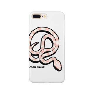 コーンスネーク   スノー Smartphone cases