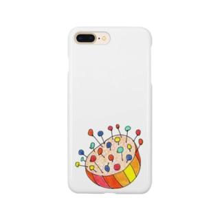 針山くん Smartphone cases
