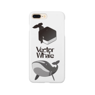 Vector Whale 001 Smartphone cases