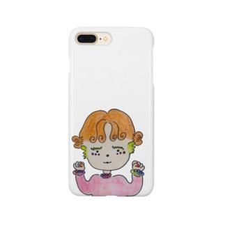 チアばぶ👶🏻カラー Smartphone cases