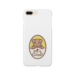たべようかな。 Smartphone cases