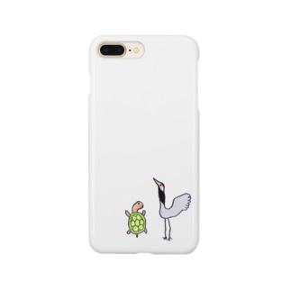 つるとかめ Smartphone cases