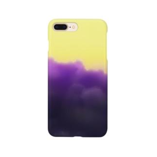 雲 くも モクモク Smartphone cases