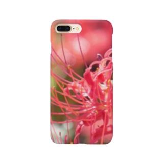 季節の花 彼岸花 Smartphone cases
